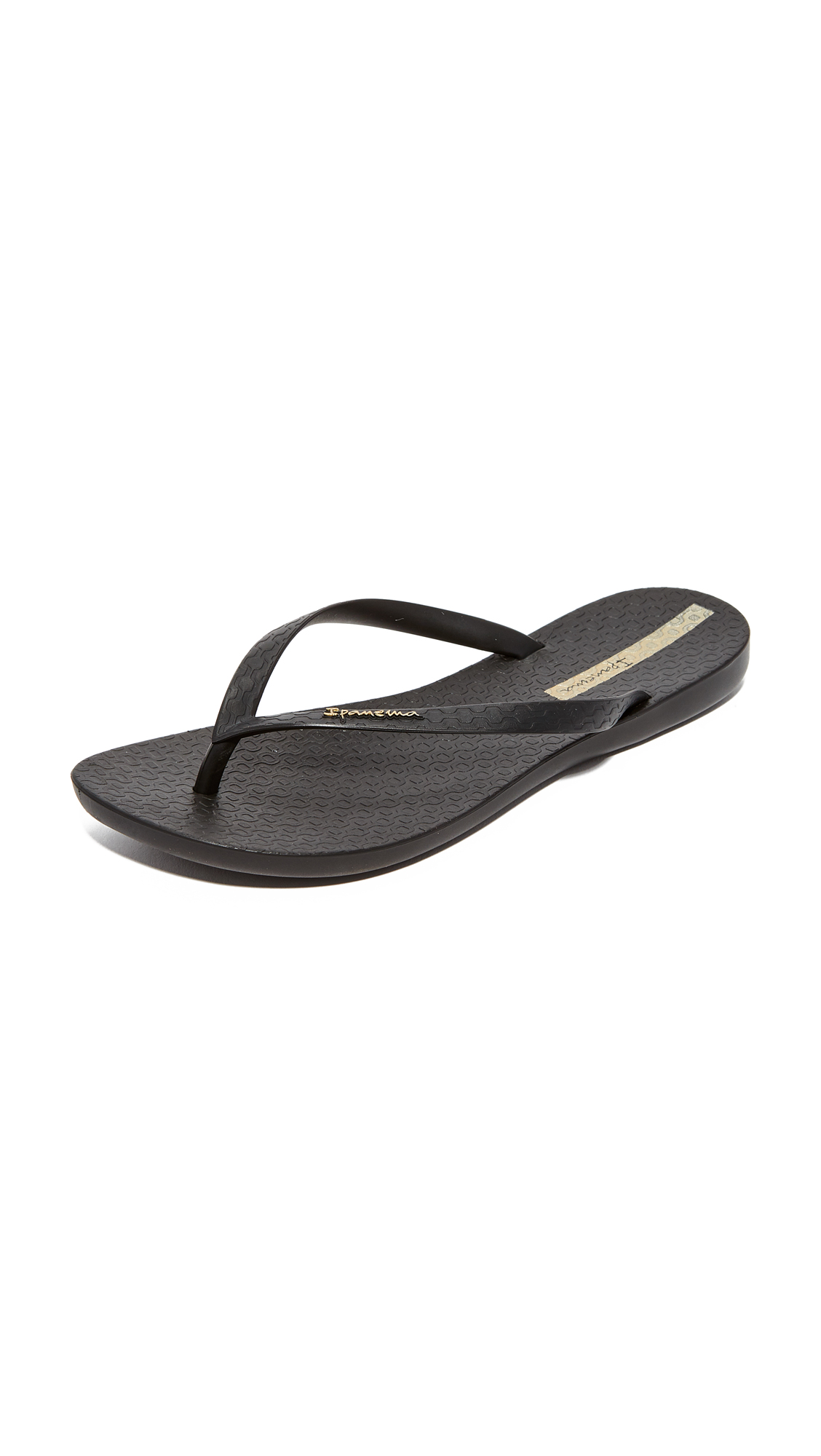 Ipanema Wave Essence Flip Flops - Black