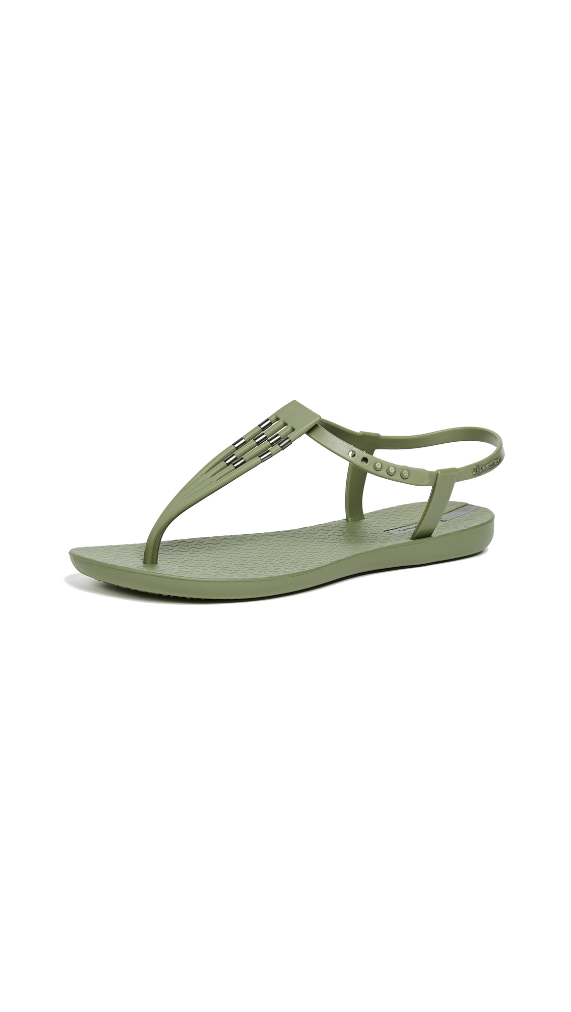 Ipanema Sunray T-Strap Sandals - Green/Green