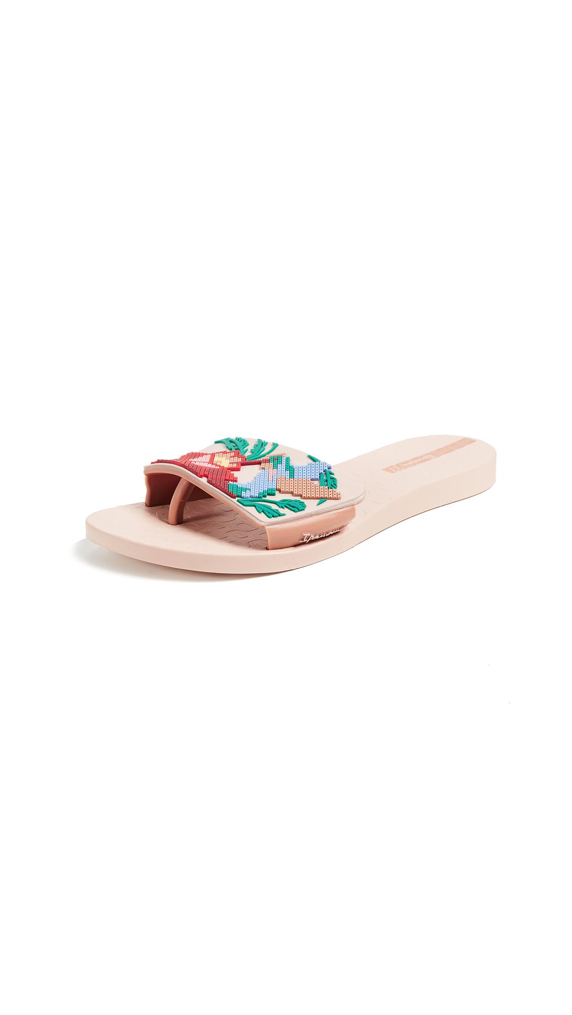 Ipanema Nectar Slides - Pink/Beige