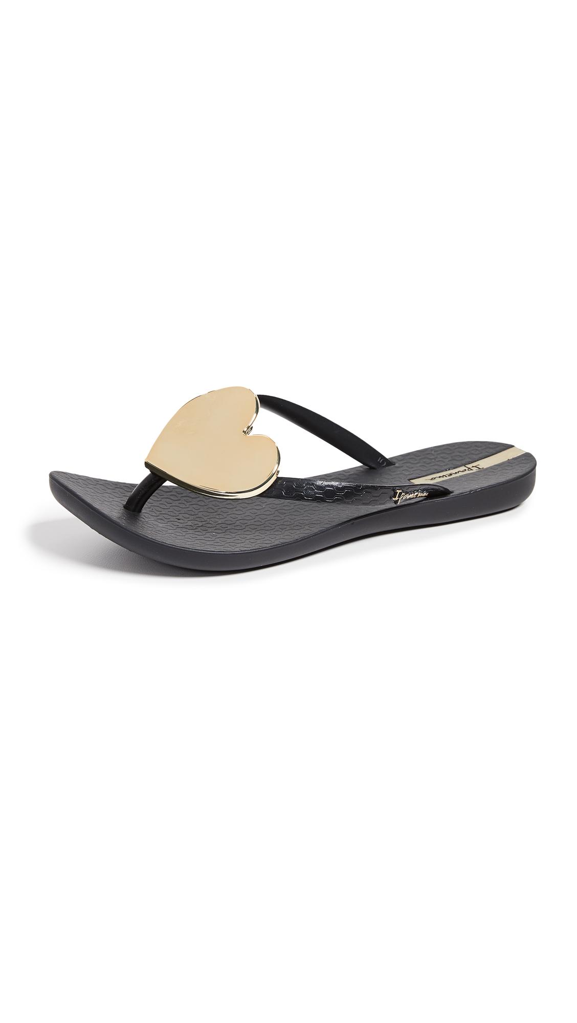 Buy Ipanema Wave Heart Flip Flops online, shop Ipanema