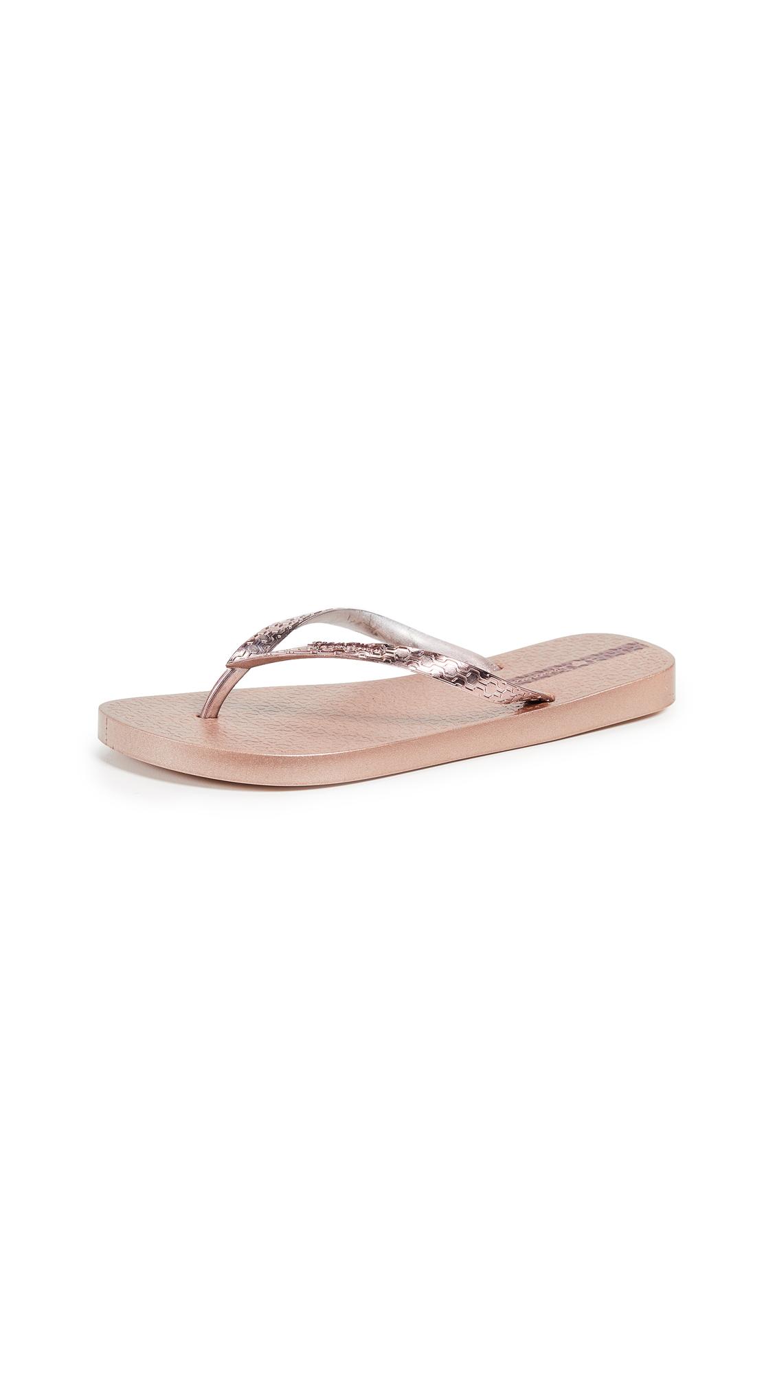 Ipanema Glam Flip Flops - Rose