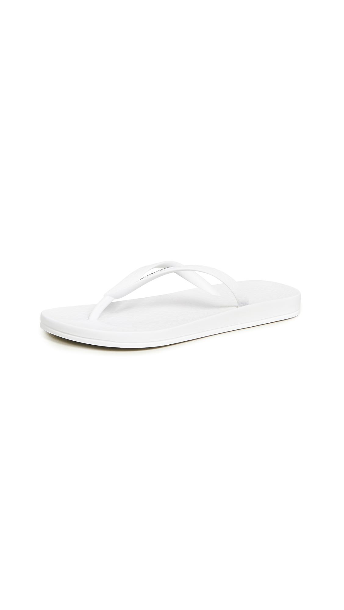 Ipanema Ana Tan Flip Flops - White