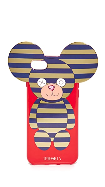 Iphoria Teddy Stripes iPhone 7 Case