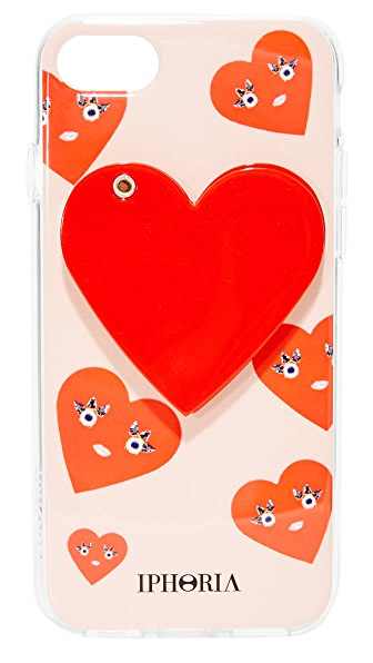 Iphoria Cute Hearts iPhone 7 Case