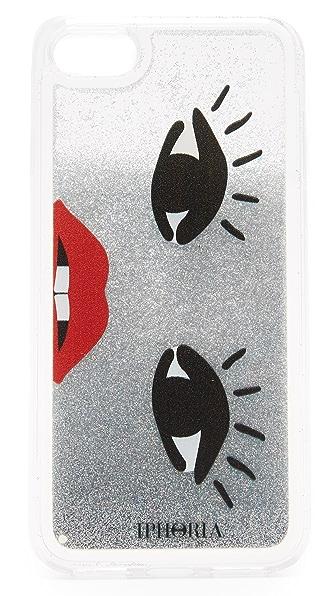 Iphoria Glitter Face Liquid iPhone 7 Case
