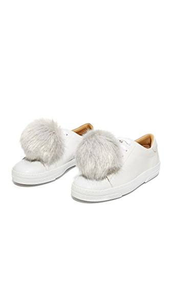 Iphoria Faux Fur Sneaker Charm Set