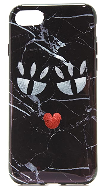 Iphoria Black Marble Monster iPhone 7 Case