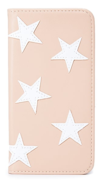 Iphoria Book Case Stars iPhone 7 Case