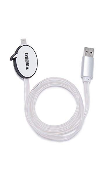 Iphoria Speech Bubble Lightning Cable