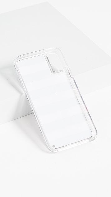 Iphoria Heart Stripes iPhone X Case