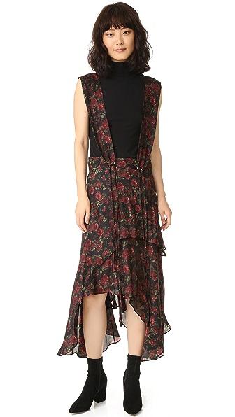 IRO.JEANS Loeva Dress - Multico Khaki
