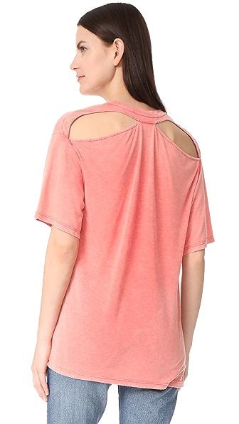 IRO. JEANS Tylan Tee Shirt - Coral Pink