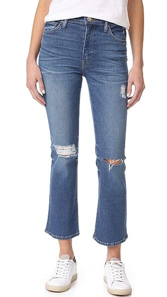 IRO.JEANS Bonnie Super Rise Crop Flare Jeans
