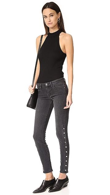 IRO.JEANS Biba Mid Rise Slim Straight Jeans