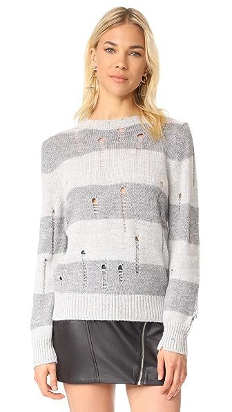 IRO. JEANS Stys Sweater In Light Grey/Grey