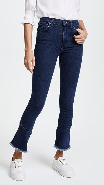 IRO. JEANS Berry Jeans In Blue Denim