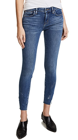 IRO. JEANS Jarod Mid Rise Skinny Jeans In Dirty Blue
