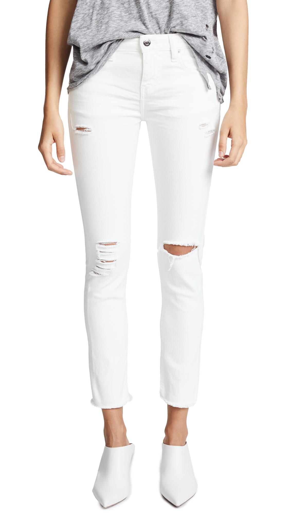 IRO. JEANS Jarod Mid Rise Crop Skinny Jeans