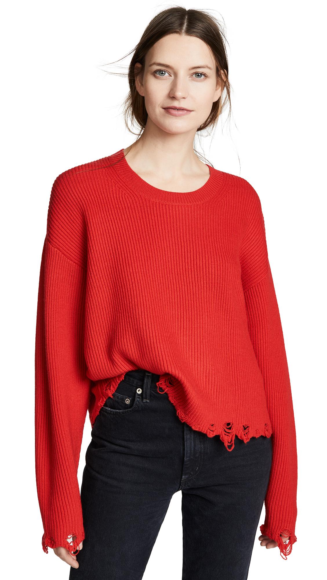 IRO.JEANS Iro. Jeans Webro Sweater in Poppy Red