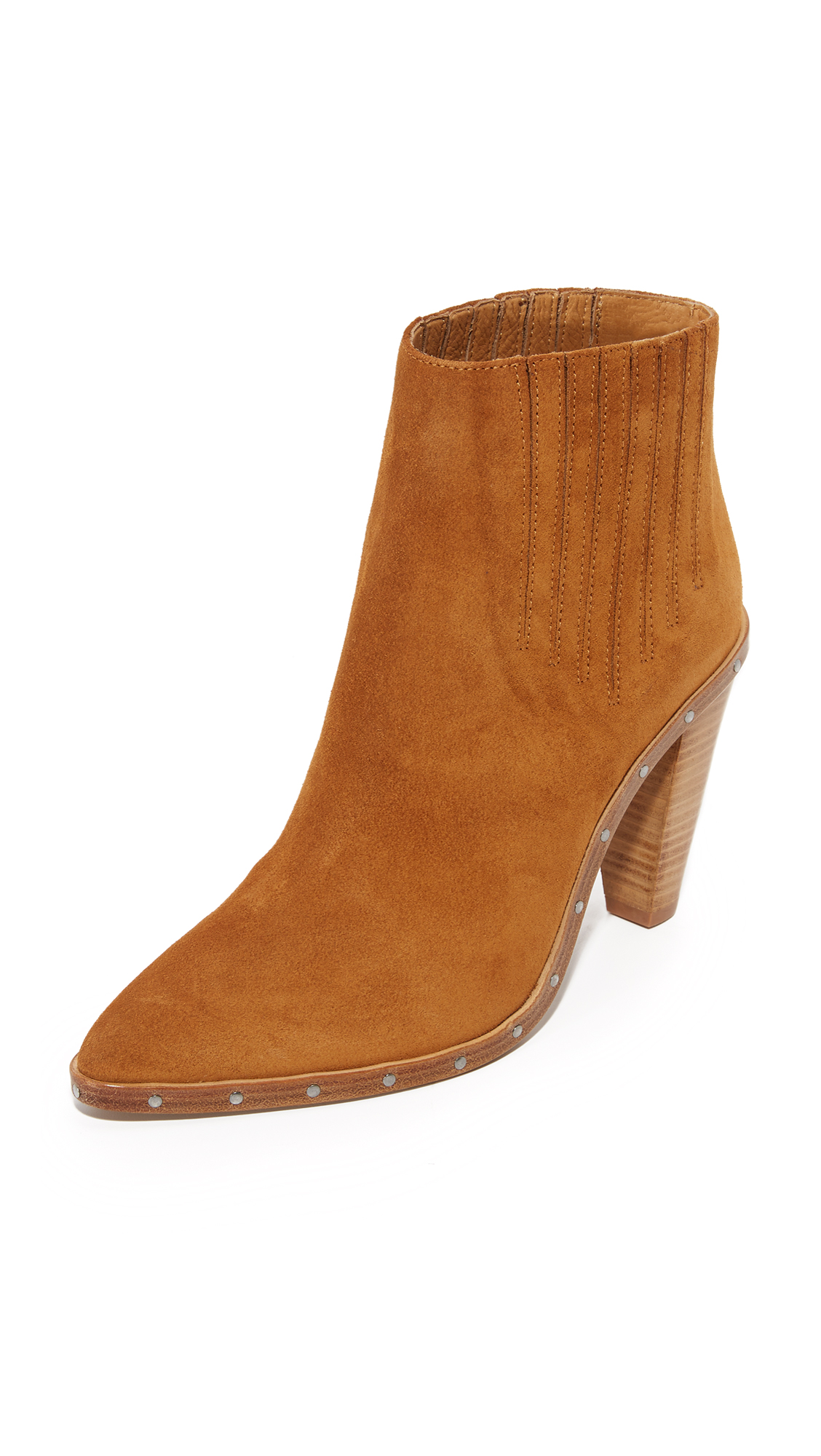 Iro Noliana Booties - Camel