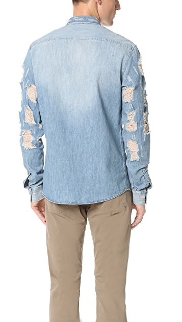 IRO Vince Denim Destroy Shirt