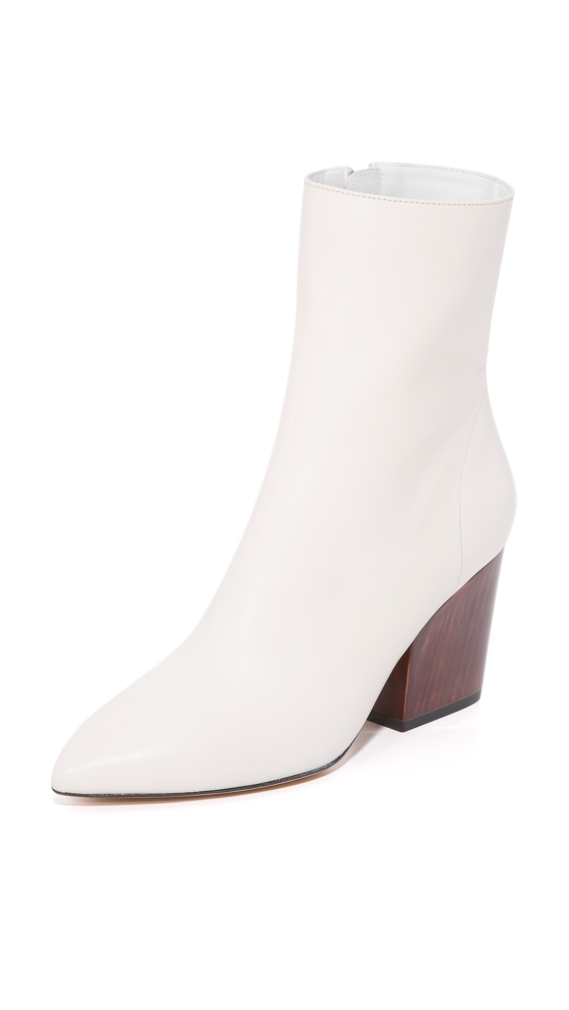 Iro Ameliss Booties - Off White