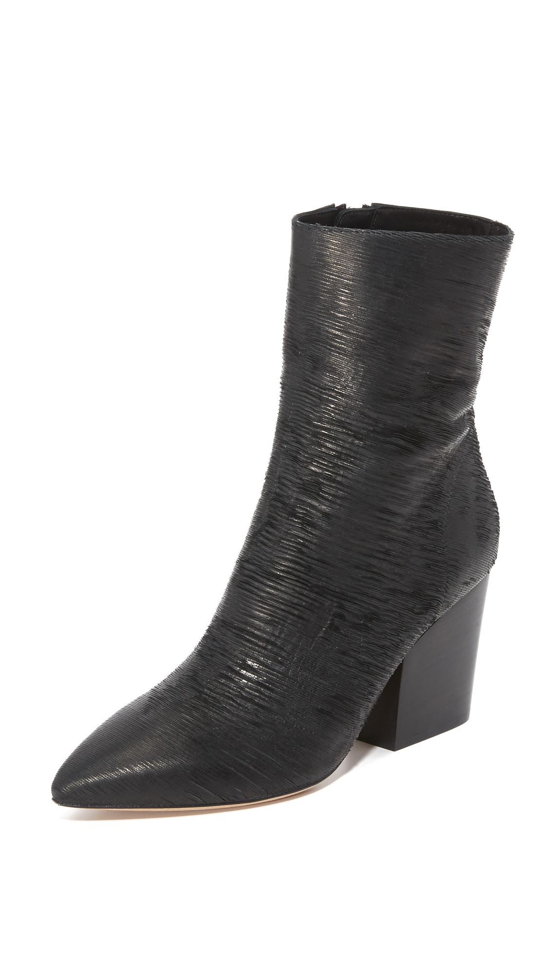 Iro Ladila Booties - Black