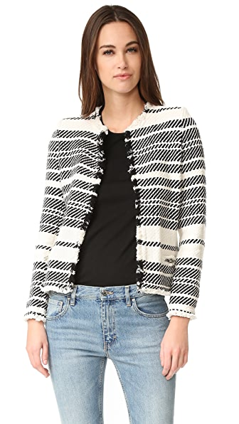 IRO Zlata Jacket - Ecru/Black