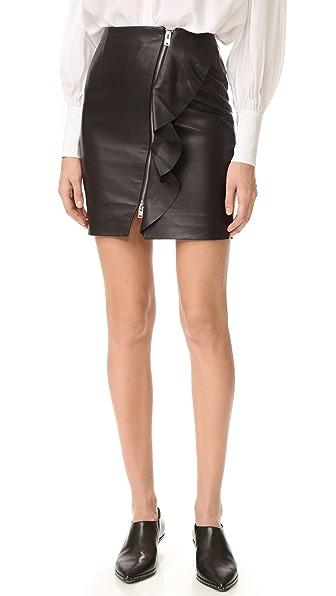 IRO Tia Leather Skirt