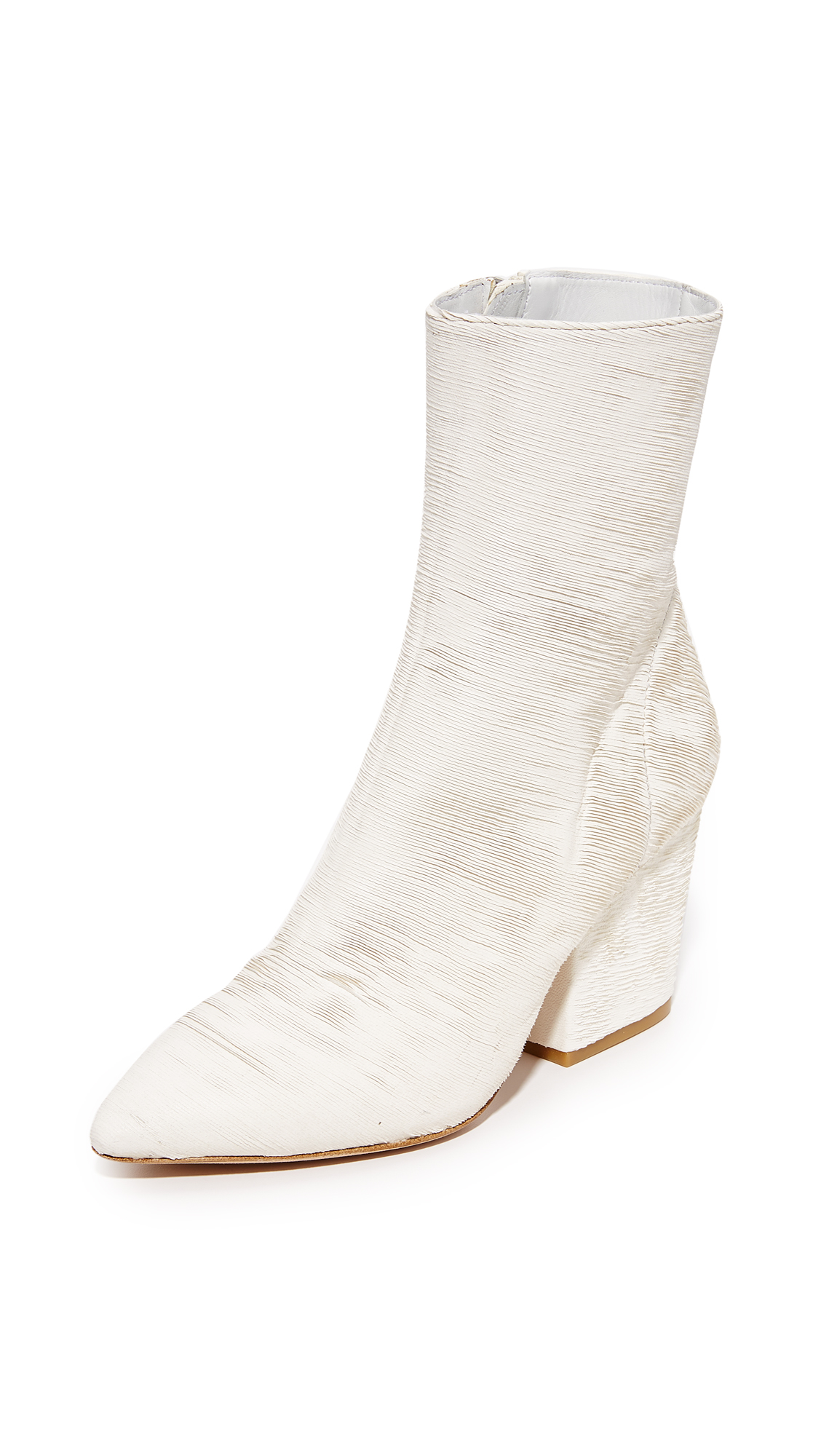 Iro Ladila Booties - Grey/White