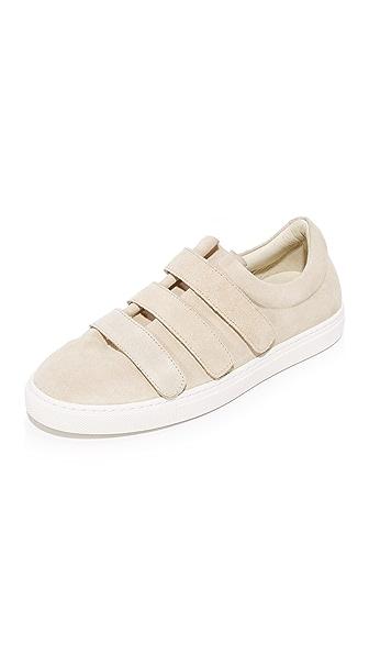 IRO Scratch Suede Sneakers - Ecru