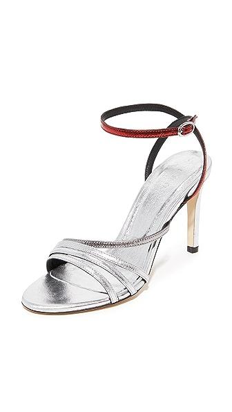 IRO Sparkly Sandals - Silver