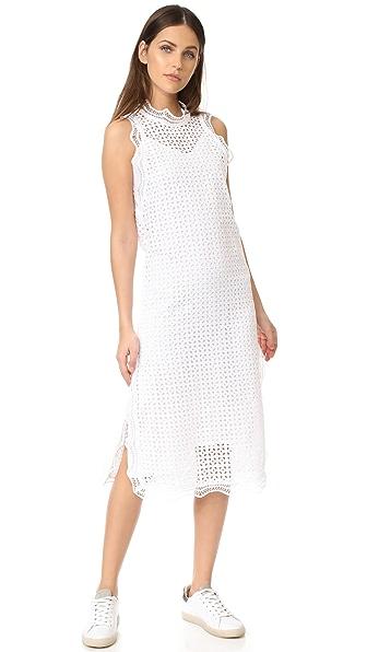 IRO Vicki Dress In White