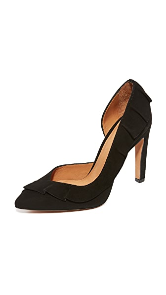 IRO Escavol Ruffle Pumps
