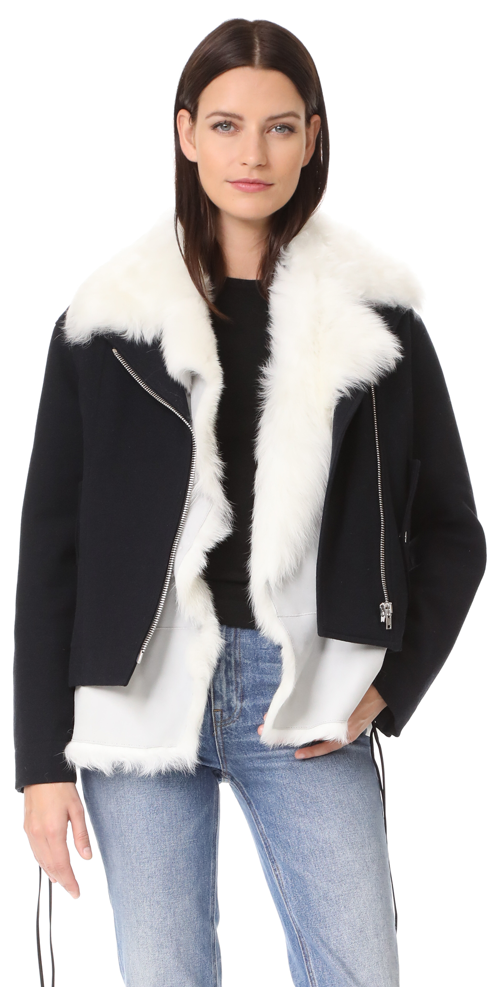 Bells Jacket with Removable Fur Vest IRO