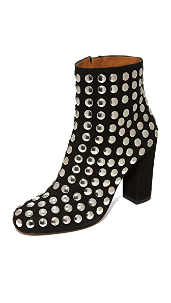IRO Bootroky Studded Booties - Black