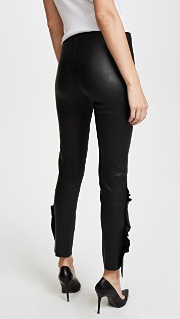 IRO Cardash Leather Pants