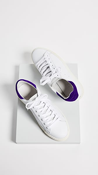 IRO Basic Sneakers - White/Purple