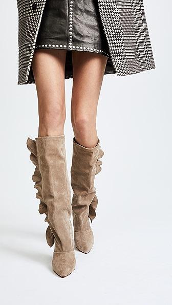 IRO Cidravol Boots - Taupe
