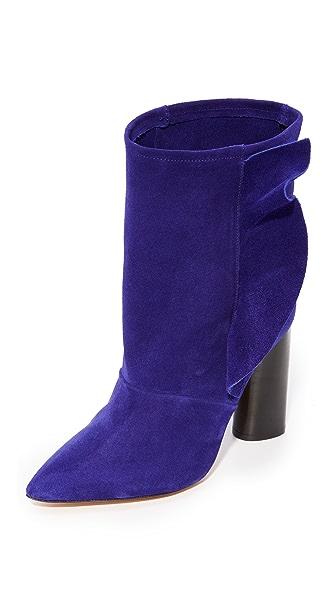 IRO Cidravolti Booties In Purple