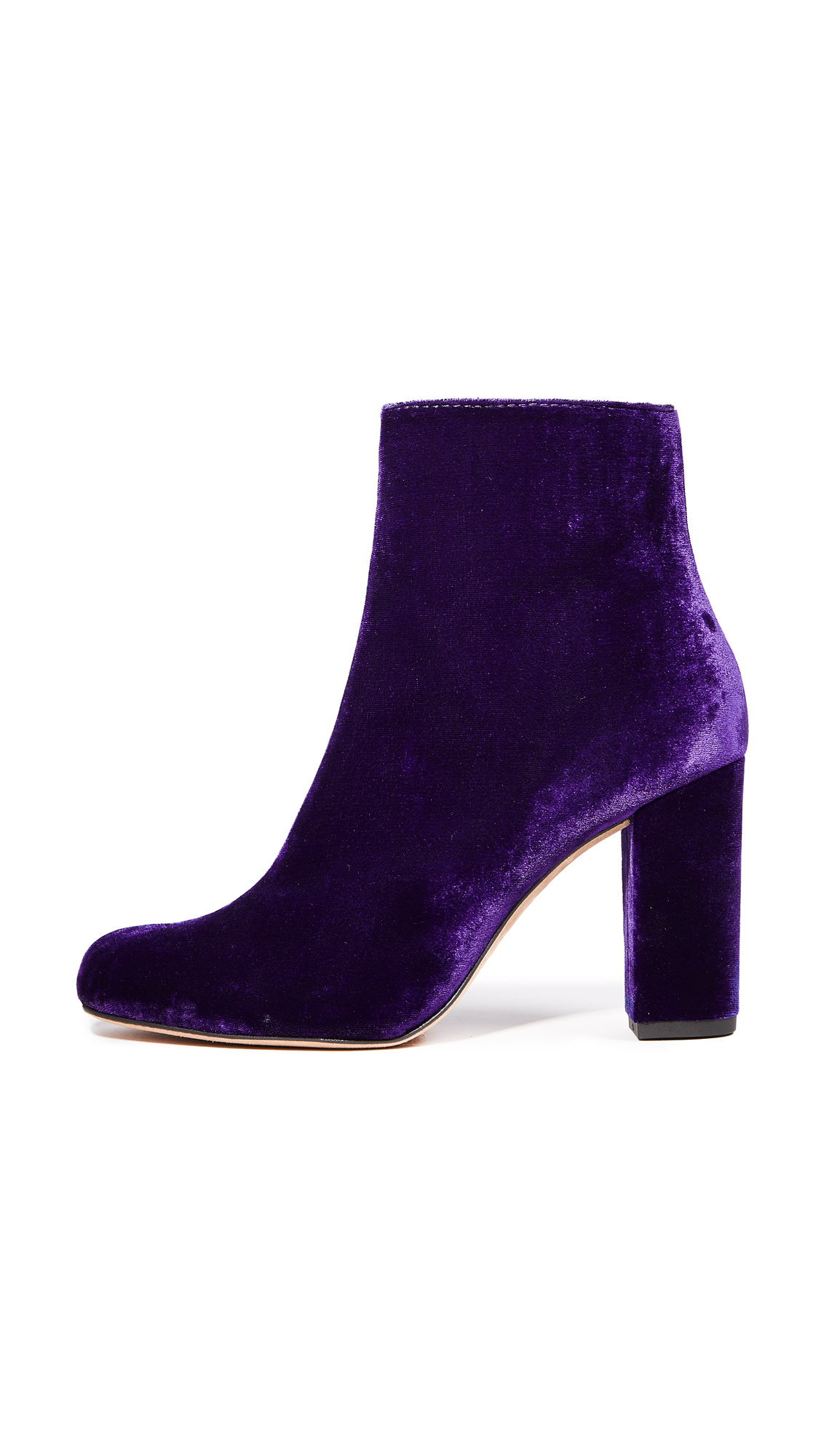 IRO Bootev Booties - Dark Purple