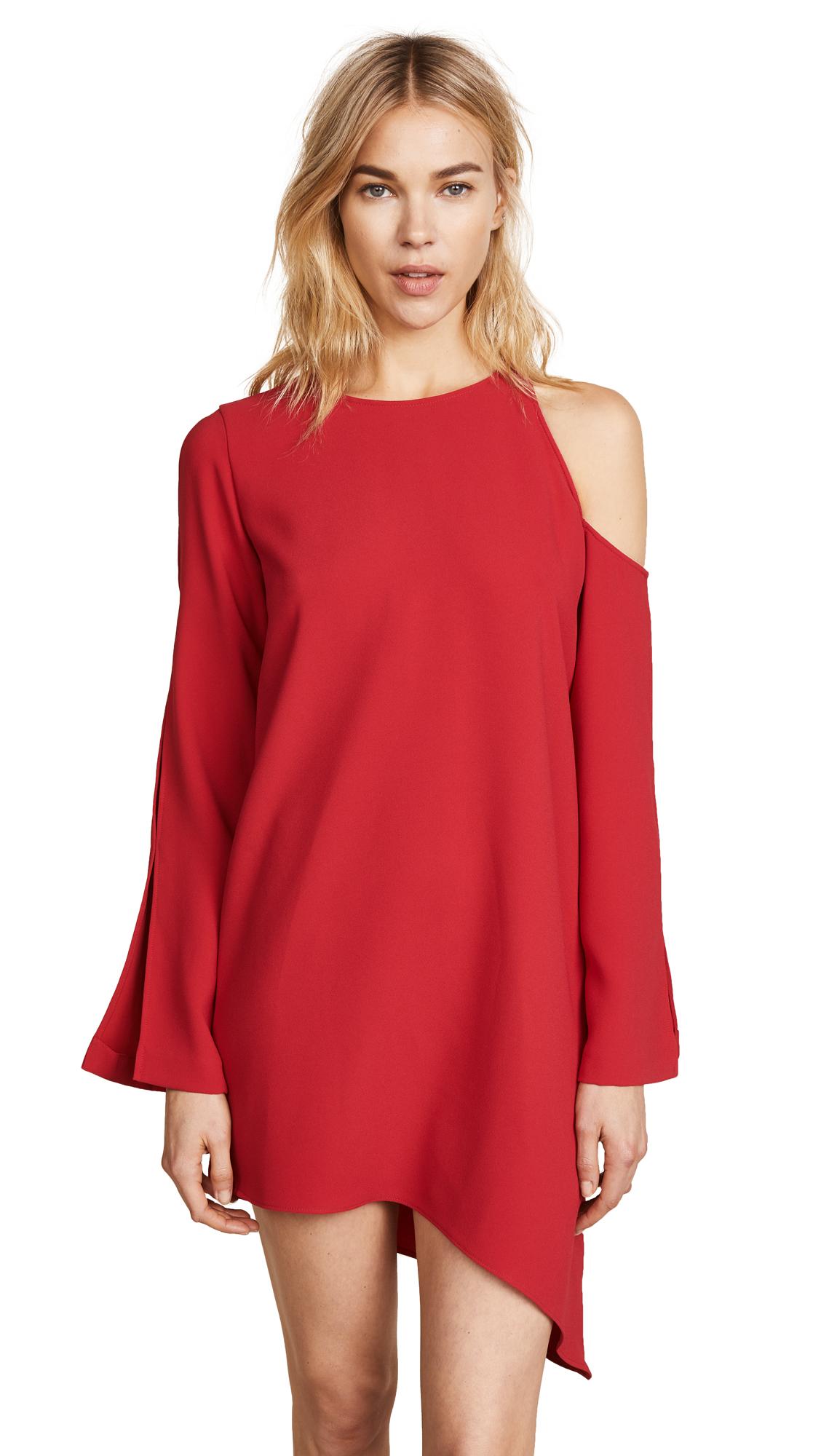 IRO Awati Dress In Poppy Red