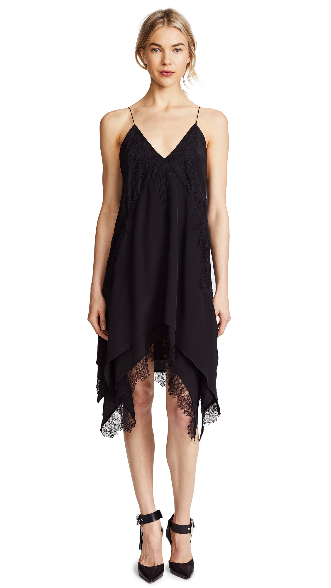 IRO Hargan Lace Slip Dress