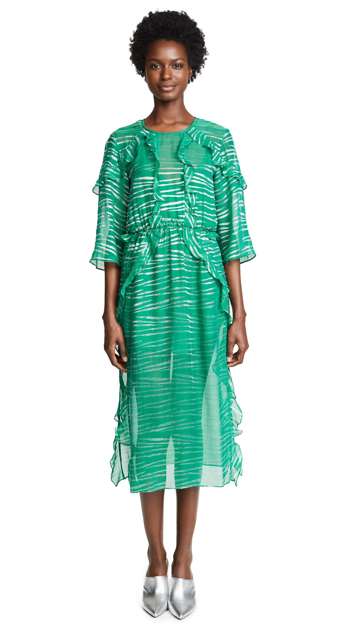 IRO Eolla Dress In Emerald