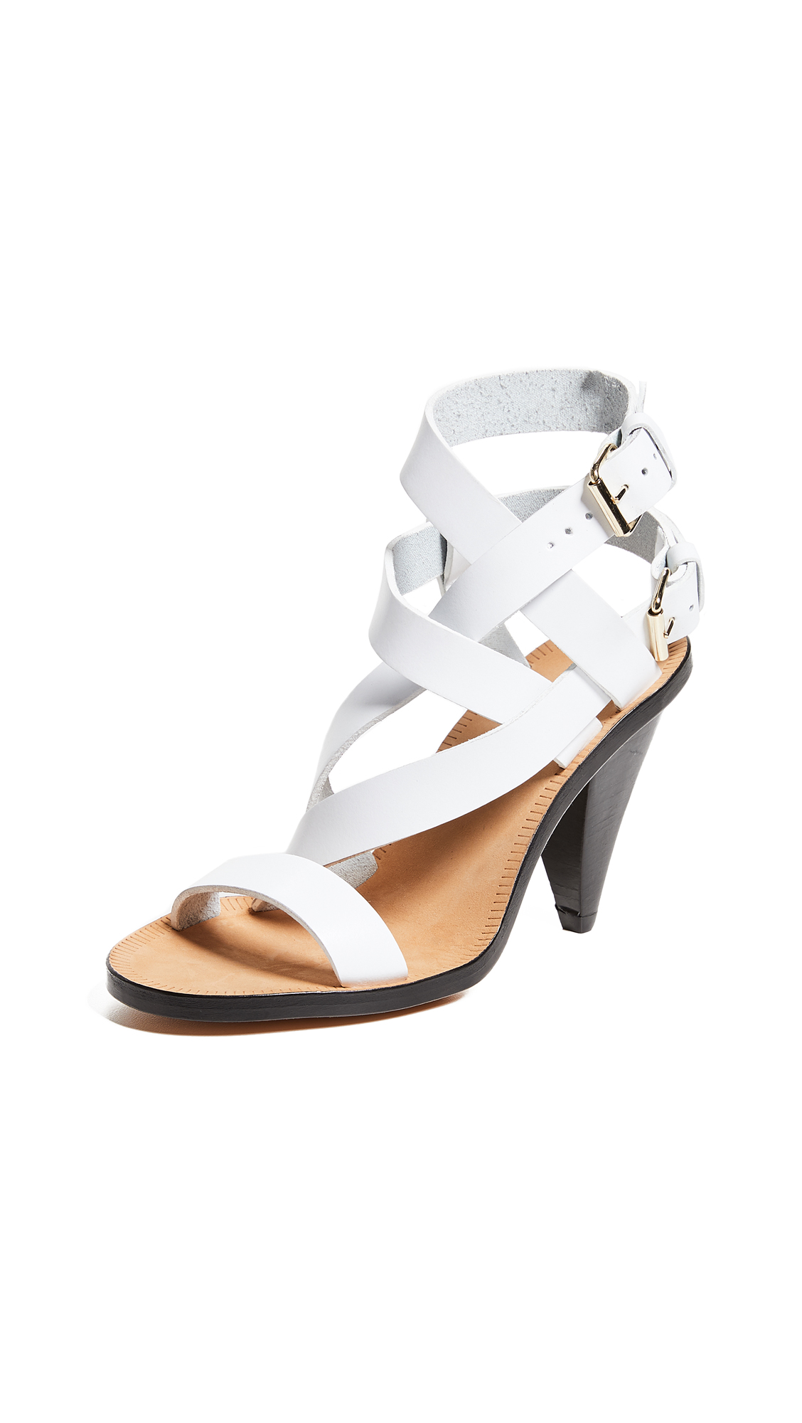 IRO Riara High Heel Sandals - White