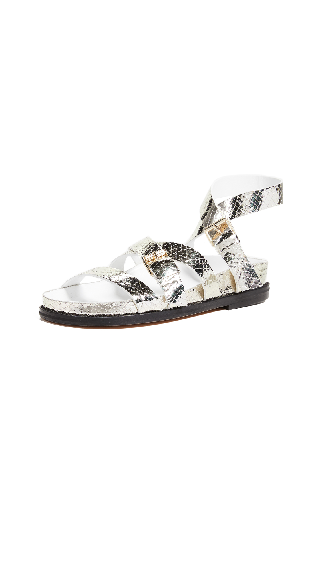 IRO Jilor Flat Sandals - Gold