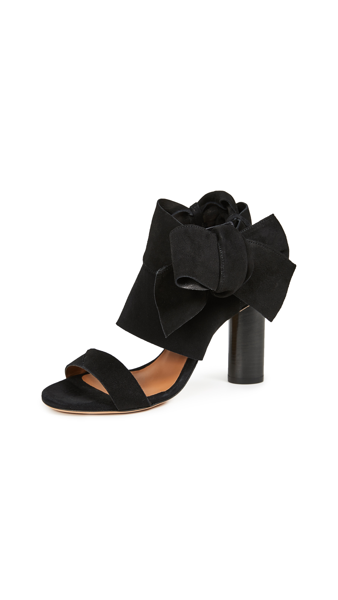 IRO Ditta Wrap High Heel Sandals - Black