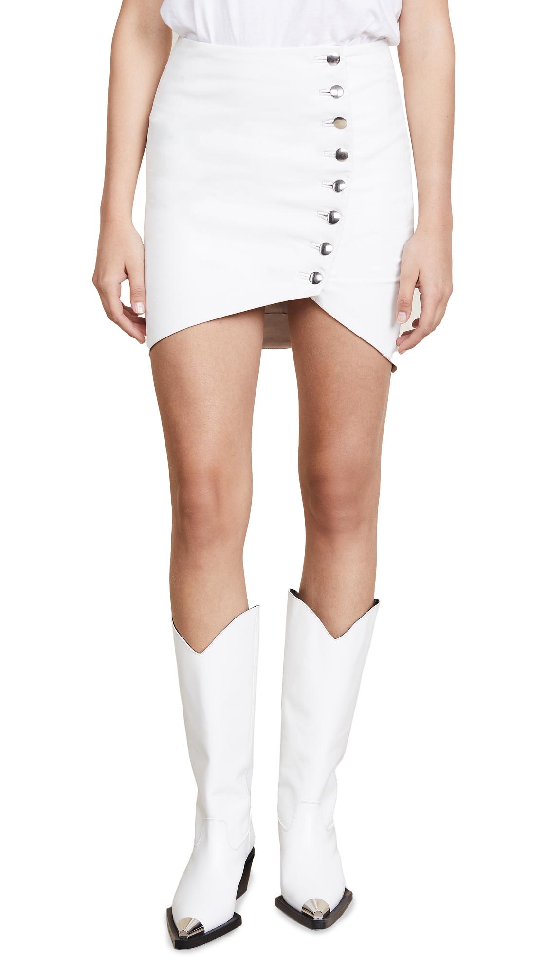 IRO Clefa Skirt In White