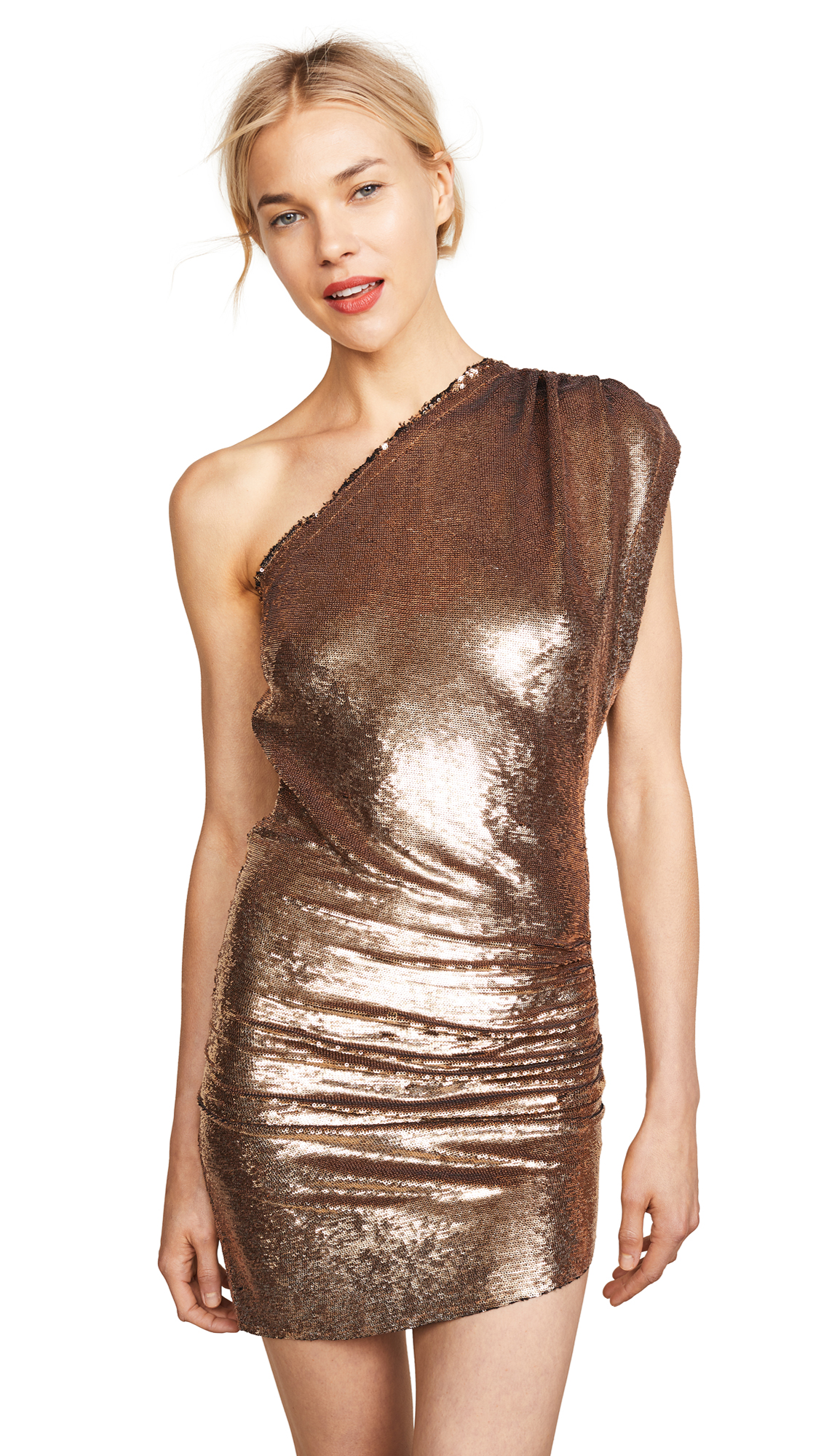 IRO Exciter Dress In Gold