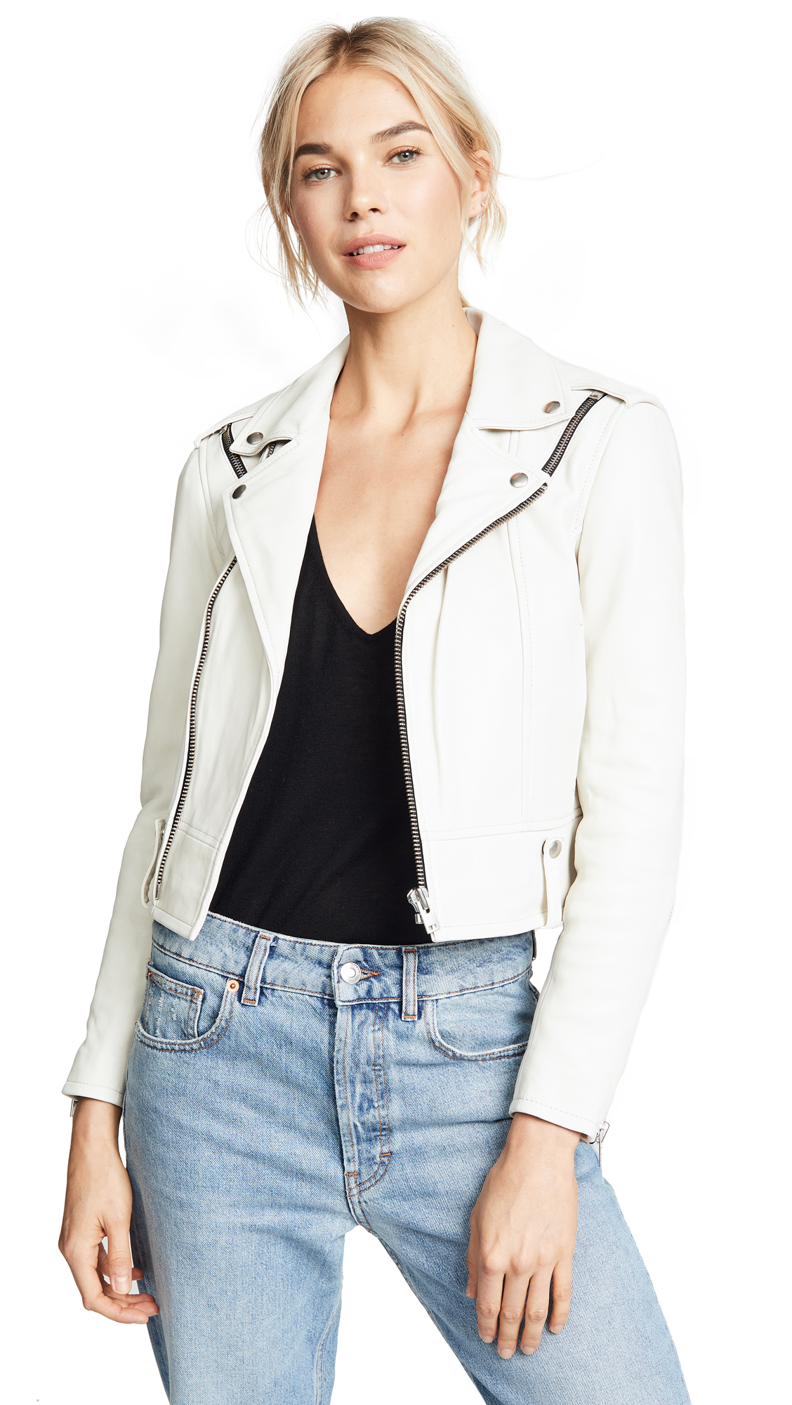 IRO Ozark Jacket In Off White